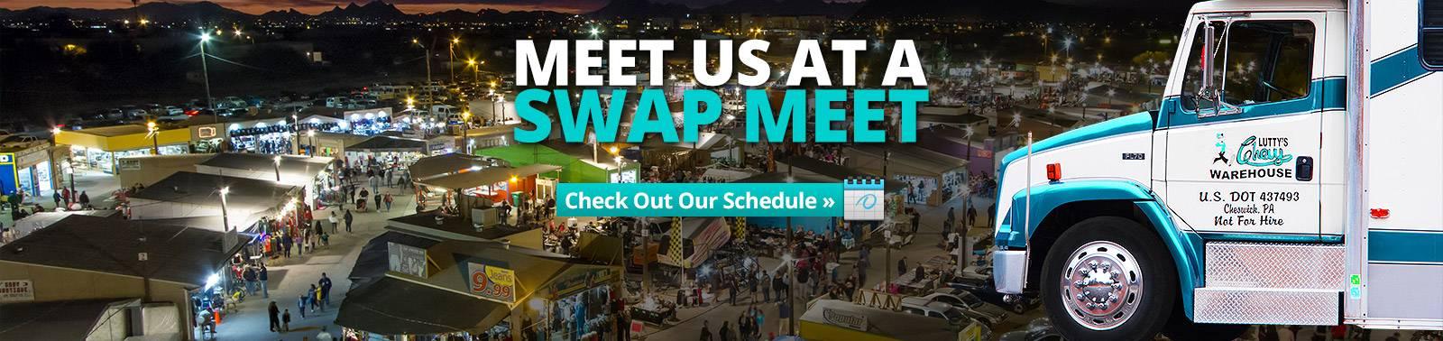 Swap Meet Schedule