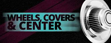 Wheels, Covers & Center
