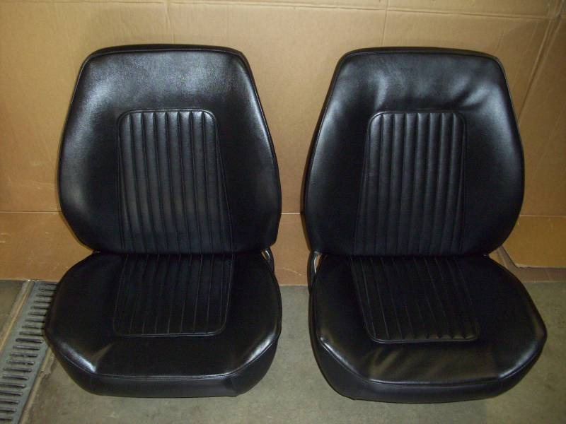 Tremendous 1967 68 Chevy Camaro Assembled Bucket Seats Onthecornerstone Fun Painted Chair Ideas Images Onthecornerstoneorg