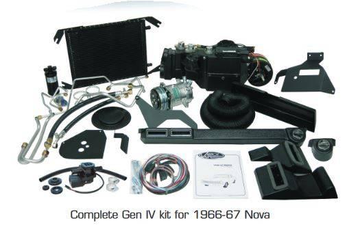Vintage Air Gen Iv Sure Fit Complete Kit
