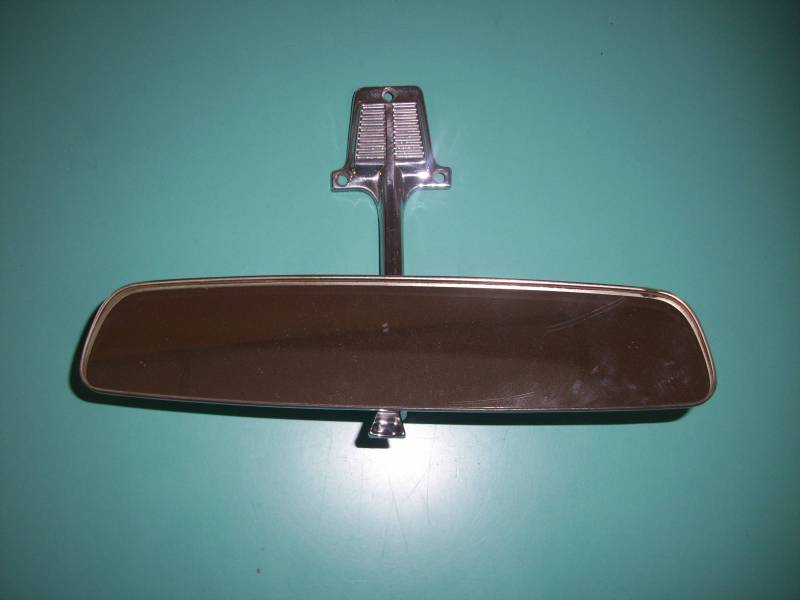 1960 71 Chevy Truck Interior Rear View Mirror With Bracket Used