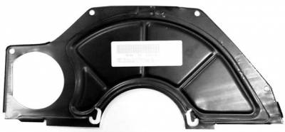 GM Restoration Parts - TRANSMISSION FLY WHEEL COVER