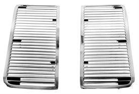 GM Restoration Parts - HOOD GRILLES