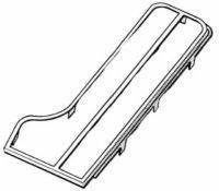 GAS PEDAL CHROME TRIM - DELUXE