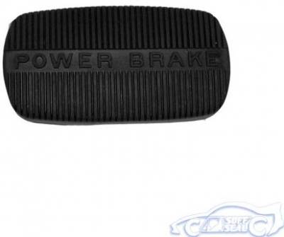 BRAKE PEDAL PAD - AUTOMATIC WITH POWER