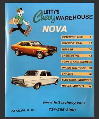 1975-76 Chevrolet Nova Standard PUI Custom Front Door Panels