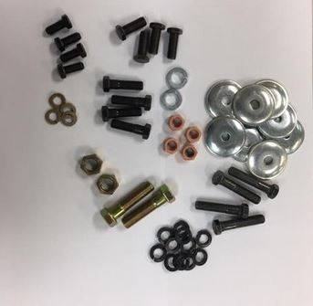 Clips, Fasteners, Clamps & Bolts