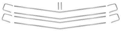 GRILLE MOLDINGS 10 PIECE SET