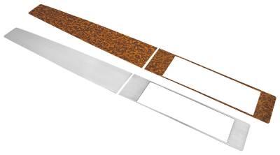 CONSOLE INSERT KIT - WOOD GRAIN