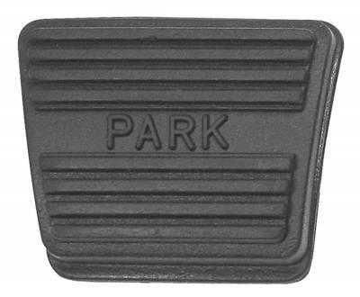 EMERGENCY BRAKE PAD PARK LETTERING