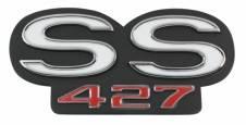 REAR EMBLEM SS 427
