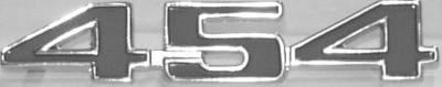 TAILGATE EMBLEM 454