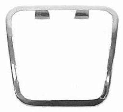 PEDAL PAD CHROME TRIM - PARK