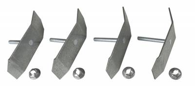 TAILGATE MOLDING CLIPS SET