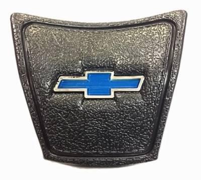 HORN CAP - BLACK WITH BLUE BOWTIE