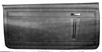 DOOR PANELS FRONT STANDARD INTERIOR
