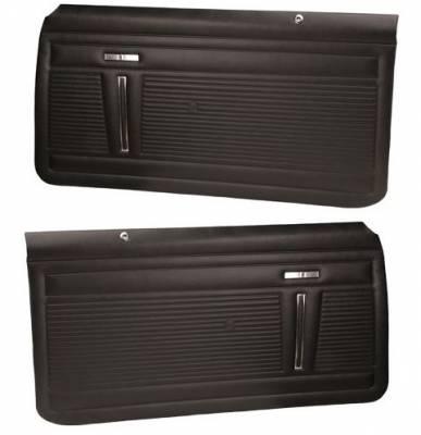 PREASSEMBLED FRONT DOOR PANELS - STANDARD INTERIOR