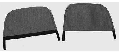 HEADREST COVERS- BUCKET SEAT