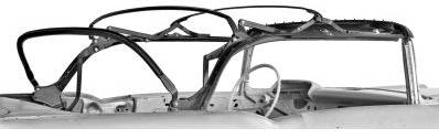 CONVERTIBLE TOP BOW ASSEMBLY KIT
