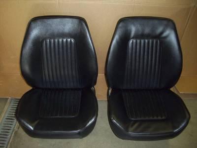 1967-68 CHEVY CAMARO ASSEMBLED BUCKET SEATS - Image 1