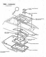 1968 Camaro - 3-4 Speed Console Components