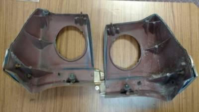 GM Restoration Parts - 1965 Impala/ Passenger Car Tail Light Extensions - Used - Image 4